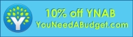 You Need A Budget 10% offdiscount