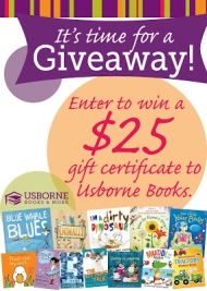 A New Job and An $25 Usborne Books Giveaway!