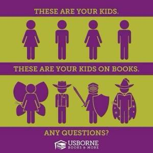 kids on books