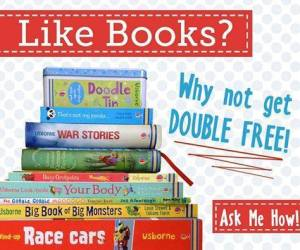 like books- get double